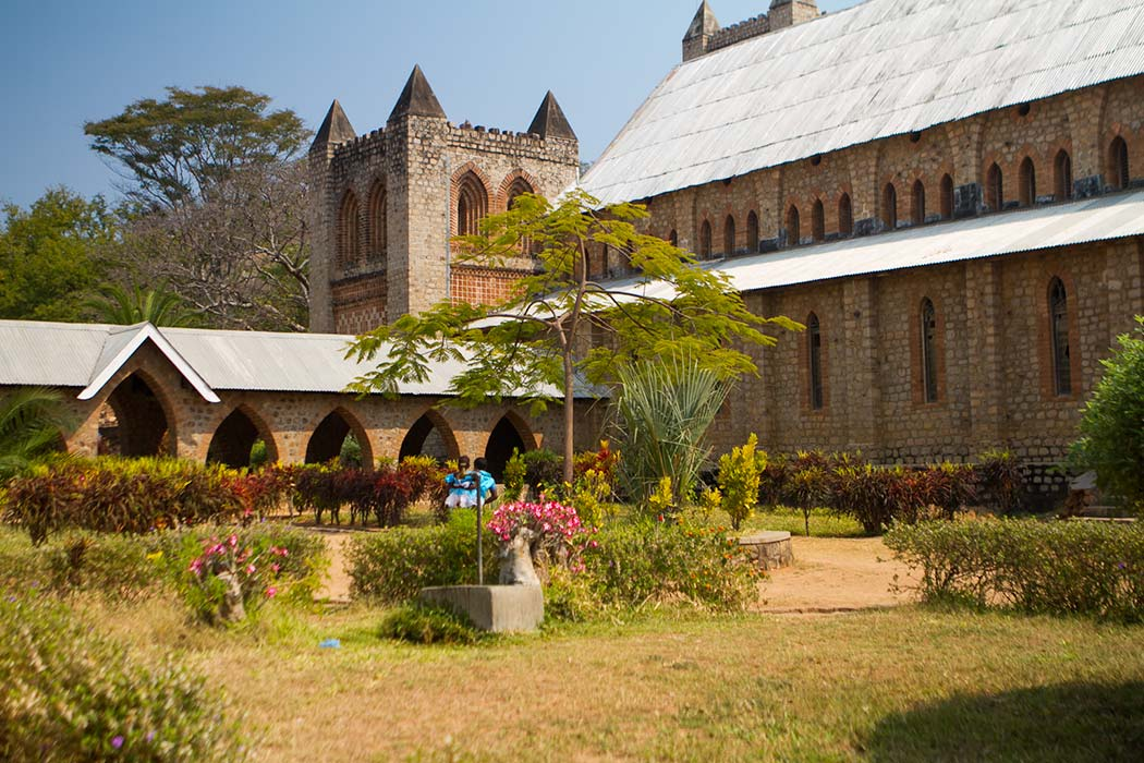 Likoma St Peter Church cloister