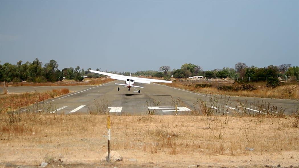 Likoma piste atterrissage