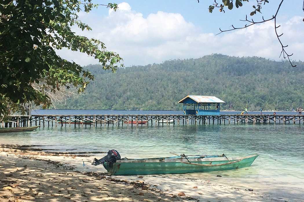Papouasie village ponton2
