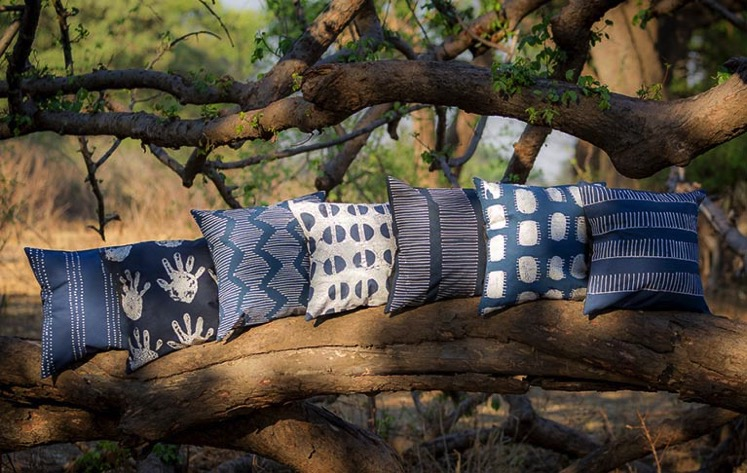 Tribal Textiles Indigo Collection